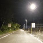 Arrivano le luci a led in via Brigata Casale, la nuova illuminazione di Gorizia