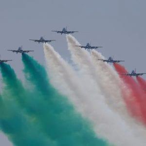 Le Frecce Tricolori tornano a volare in Friuli per festeggiare i 60 anni
