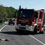 Tragico incidente a Venzone, muore una 82enne di Buja. Un ferito grave e lunghe code