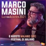 Il grande Marco Masini in concerto a Majano