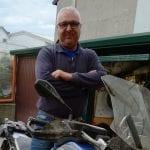 Cade con la moto a Buttrio e muore il giorno dopo: centauri in lutto per Renzo