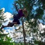 L'Adventure Park di Forni pronto a ripartire, al lavoro per ripulire i sentieri