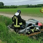 Fuori strada con l'auto a Varmo, mamma e figlie rimangono ferite