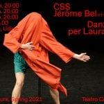 """Il Teatro Contatto mette in scena: """"Danze per Laura Pante"""""""