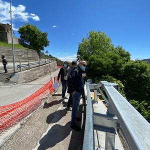 Il tornante Cimel di Forgaria messo in sicurezza con due diversi interventi