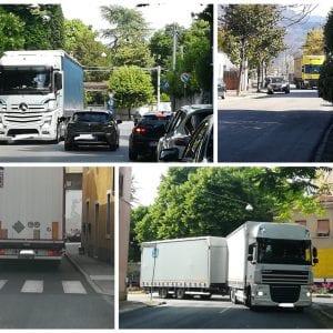 """Ancora troppi camion in centro a Gorizia, un comitato accusa il Comune: """"Non ha interesse a risolvere la situazione"""""""