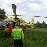 Inciampa e cade sul tratto ripido del sentiero in Friuli, si procura diversi traumi
