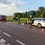 Scontro tra due auto sulla provinciale di San Daniele, un ferito