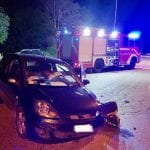 Scontro fra 2 auto al casello autostradale di Osoppo, feriti in ospedale