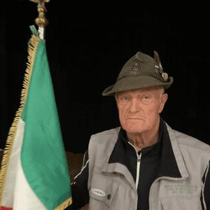 Lidio Dorigo è il nuovo capogruppo dell'Ana di Forni di Sopra