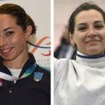 Il sogno olimpico di due friulane della scherma, Battiston e Navarria a Tokyo