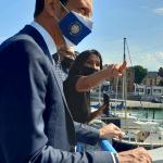 Fedriga in visita a Monfalcone. Dalle Terme romane al Canale Valentinis, presentato il piano dei cantieri