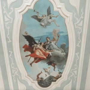 Sul soffitto di Palazzo Caiselli a Udine l'affresco di Tiepolo in versione digitale