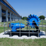 La storica turbina della diga di Sauris donata all'Università