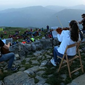 Musica classica sulle cime del Matajur per i 50 anni del CAI Val Natisone