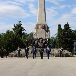 Anniversario della battaglia del Podgora, celebrazioni ufficiali dei carabinieri