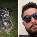 Perde il controllo della moto sulla rotonda di Pavia, Nicola muore a 32 anni