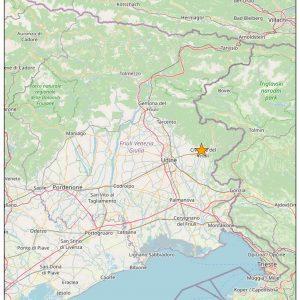 Scossa di terremoto tra Moimacco e Cividale, sentiti vibrare i vetri delle case
