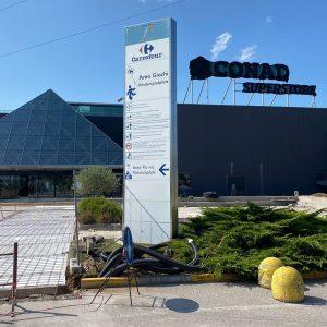 Il Centro commerciale Friuli riapre, l'inaugurazione del supermercato Conad