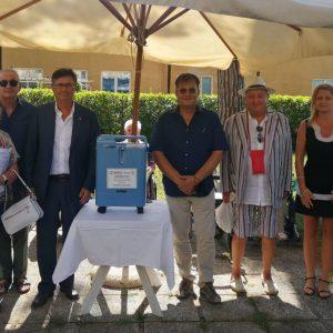 Un'altra donazione per la Casa Serena di Grado, arriva un nuovo respiratore