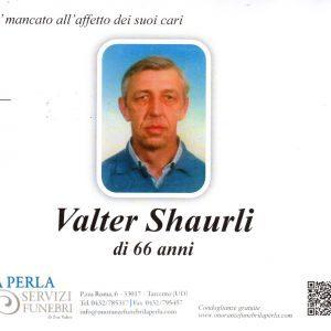 Valter Shaurli