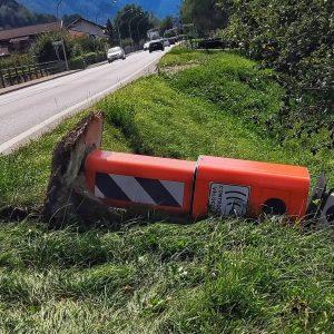 L'autovelox in Carnia nel mirino dei vandali, danneggiato il Velo-ok