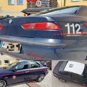Si aggirano per Tarvisio con una finta gazzella dei carabinieri: in due nei guai