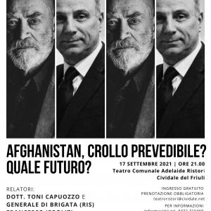 A Cividale una serata dedicata a conoscere la situazione afgana
