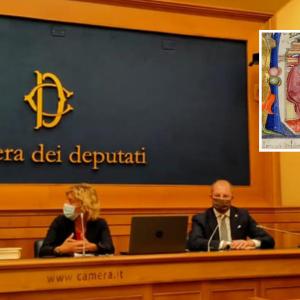 I lavori della scuola degli amanuensi di San Daniele per Dante a Montecitorio