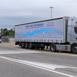 I tir viaggeranno connessi  via Wifi e 4G sulle autostrade del Friuli
