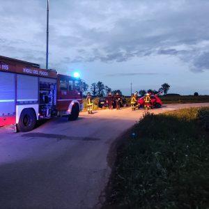 Scontro sulla strada di Villanova a San Daniele, 3 feriti in ospedale