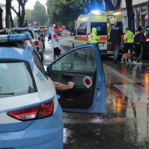 Bimbo soccorso per un investimento vicino alla stazione di Udine
