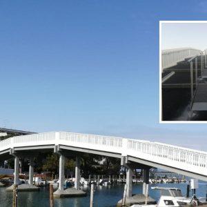 Grado e l'Isola della Schiusa di nuovo unite, conclusi i lavori sul Ponte Bullesi