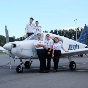 I piloti d'aereo del futuro crescono a Fagagna, l'Istituto Nobile compie 10 anni