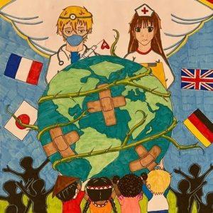 """Una studentessa di Gonars vince il primo premio per il suo """"poster della pace"""""""
