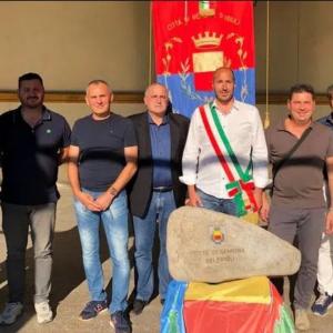 I sassi di Tagliamento e Isonzo a Ischia per il monumento al Milite Ignoto