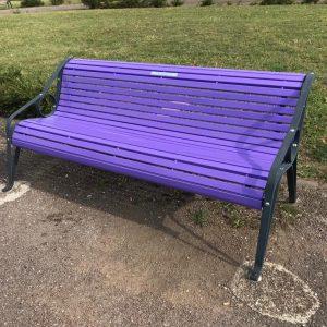 Al parco Moretti di Udine una panchina viola ricorderà i malati di Alzheimer