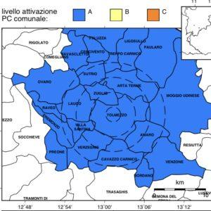 Nuova scossa di terremoto in Carnia, la terra trema a Tolmezzo