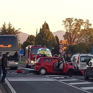Addio Augusto, morto il 25enne di Fagagna finito con l'auto contro la corriera