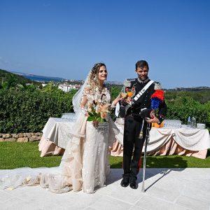 Dal Friuli alla Sardegna, il matrimonio di Miriam e Luca che ha unito 2 regioni