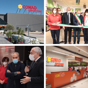 Prodotti del Friuli e ampi spazi, a Tavagnacco aperto il nuovo superstore Conad
