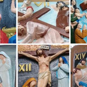 La misteriosa artista che ha ridato vita alle edicole della Via Crucis di Pontebba