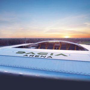 La Dacia Arena cambia look, presentato il nuovo stile per lo stadio dell'Udinese