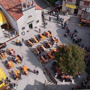 Castagne e miele protagonisti, torna la loro festa a Valle di Soffumbergo