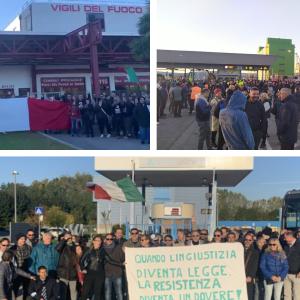 In migliaia nelle piazze per protestare contro l'obbligo di Green Pass: da Udine a Trieste si alza la voce del dissenso in Fvg
